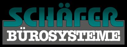 Ein logo auf der startseite schaefer buerosysteme in magdeburg